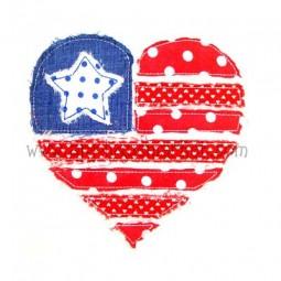 Raggy Heart Flag