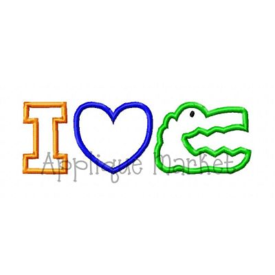 I Heart Gator