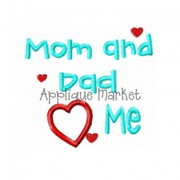 Mom and Dad Heart Me