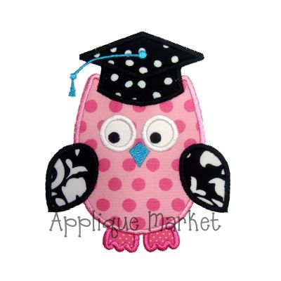 Owl Graduation Hat