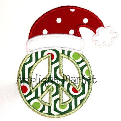 Peace Santa