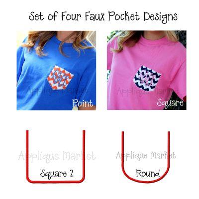 Appli-Pocket 1 Set (Faux Pocket Set)