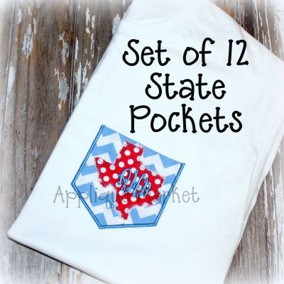 State Pocket Set 1