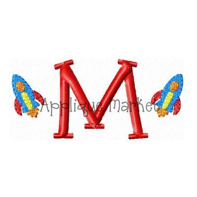 Rocket Mini Monogram