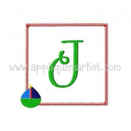 Sailboat Initial Patch