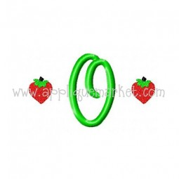 Strawberry Mini Monogram