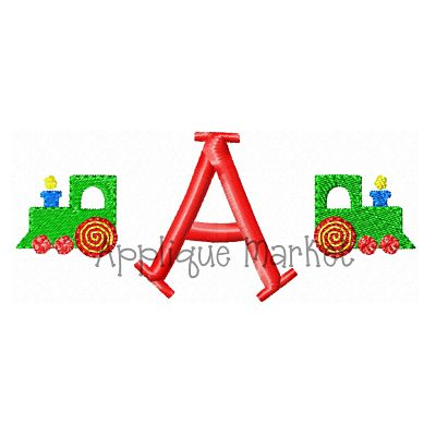 Train Mini Monogram