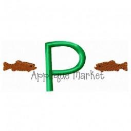 Trout Mini Monogram