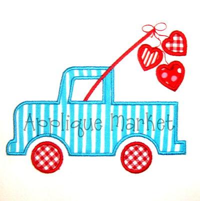 Fishing Heart Truck