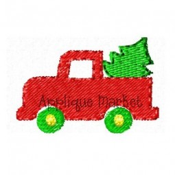 Mini Truck with Tree