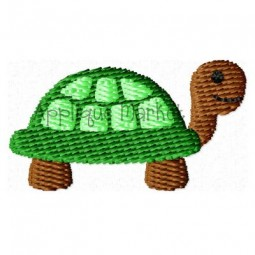 Turtle Mini Applique Design
