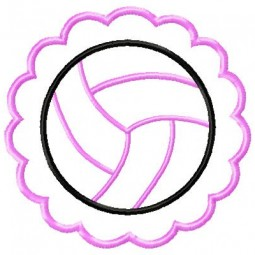 Volleyball Scallop