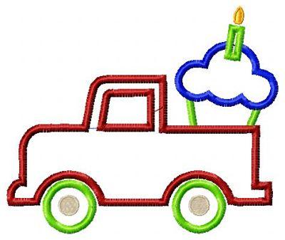 Truck Cupcake
