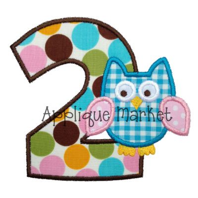 Applique Number Sets