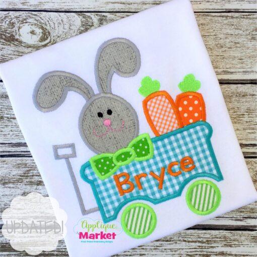 bunny wagon