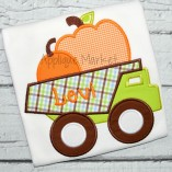 applique embroidery dump truck fall pumpkin boys_opt
