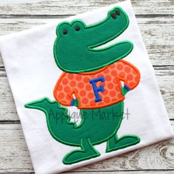 applique embroidery gator alligator florida albert sweater_opt