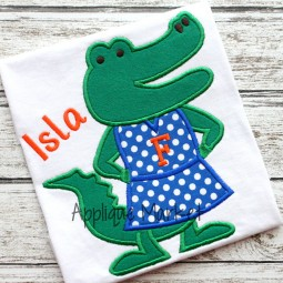 applique embroidery gator alligator florida alberta dress_opt
