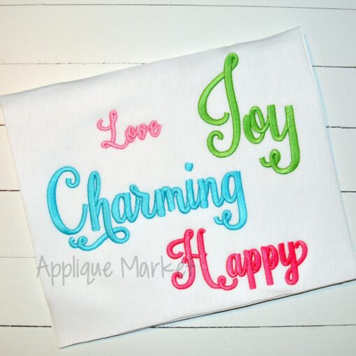 charming bold alphabet