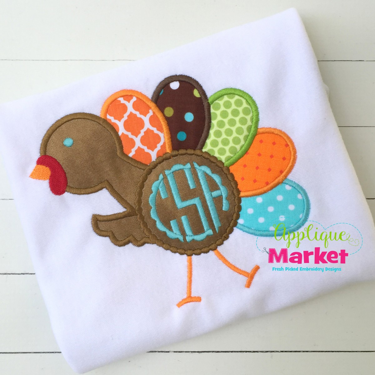 turkey monogram