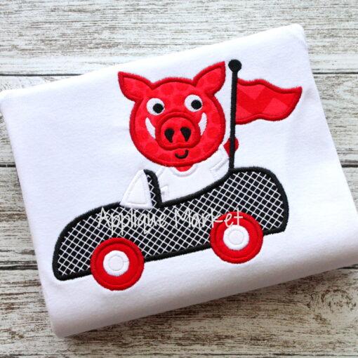 Hog Mascot Car