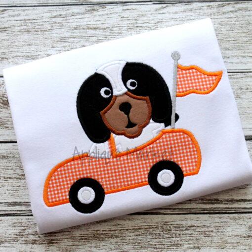 Hound Mascot Car