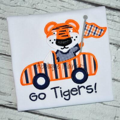 Tiger Mascot Car