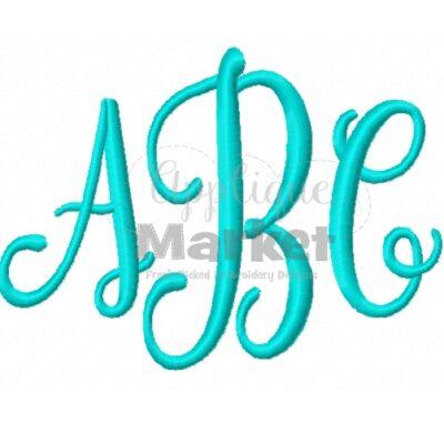 Caroline Mono ABC Sample