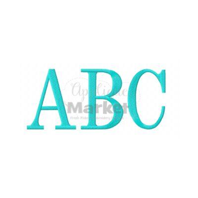 Serif Block ABC Sample