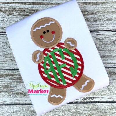 Gingerbread Monogram