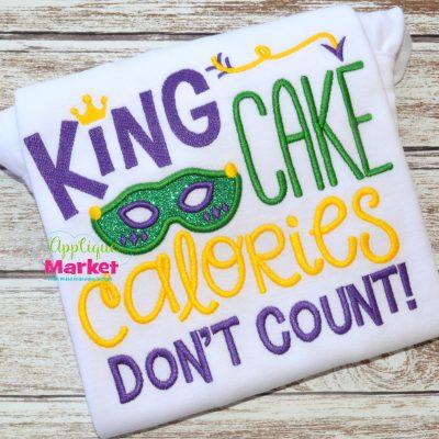 king cake calories