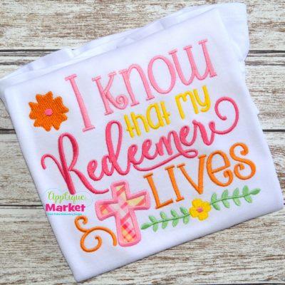 I know my redeemer
