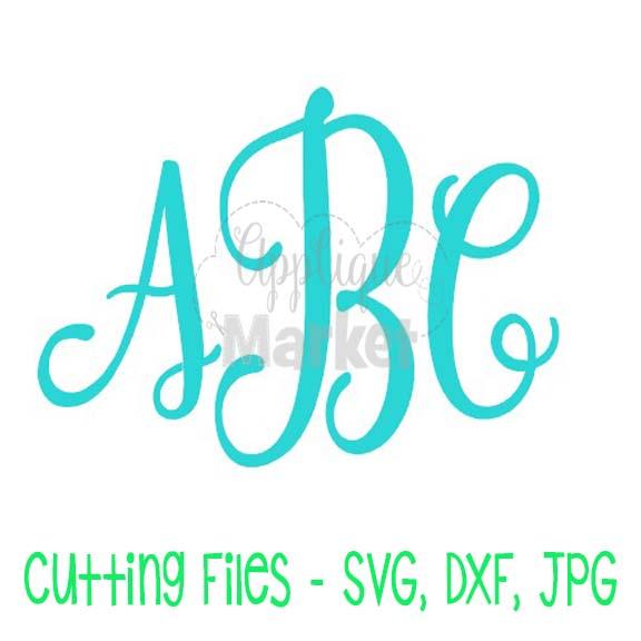 Caroline Monogram Svg