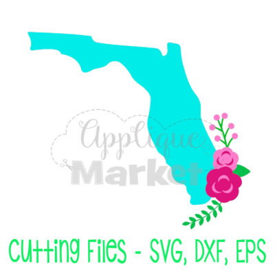 Florida flowers SVG