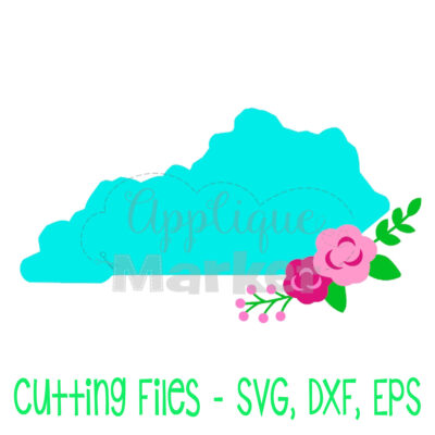 Kentucky flowers SVG
