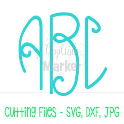 Lilly Monogram SVG