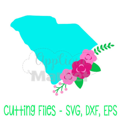 South Carolina flowers SVG