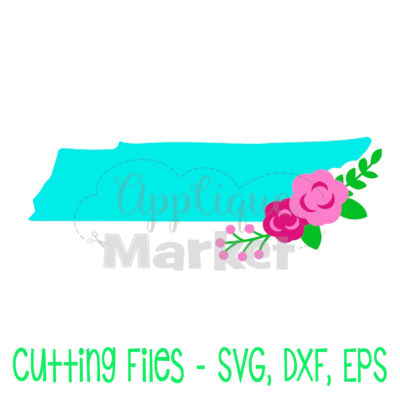 Tennessee flowers SVG
