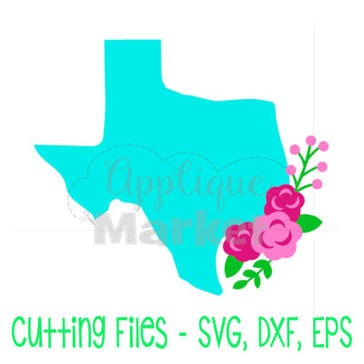 Texas flowers SVG