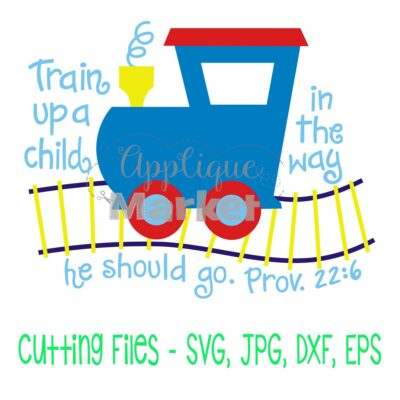 Train Up a Child SVG