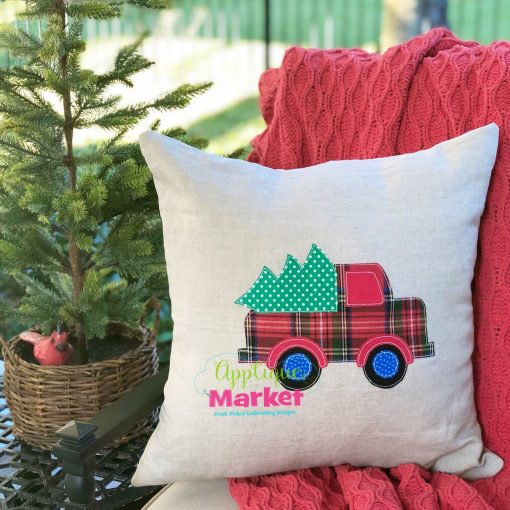 Old Fashioned Truck Christmas Vintage Stitch