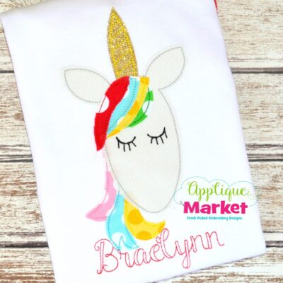 Unicorn Vintage Stitch