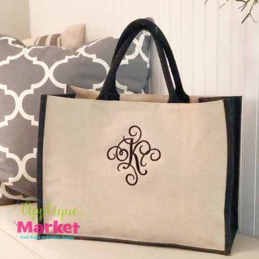 Fancy Flourish Embroidery Alphabet
