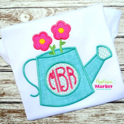 Watering Can Monogram