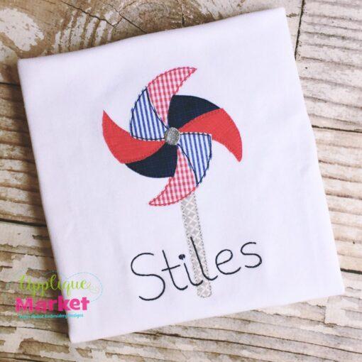 pinwheel vintage stitch