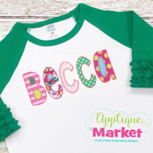 whimsey block blanket stitch raglan