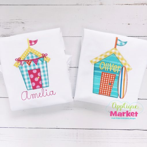 beach house blanket stitch set2
