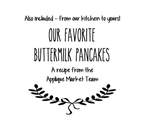 Favorite Buttermilk Pancake Recipe