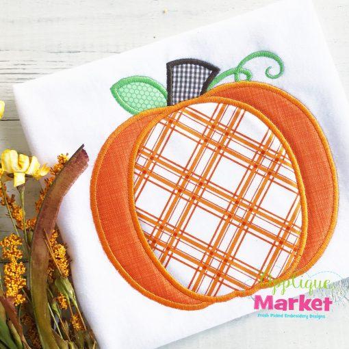 Pretty Pumpkin Applique Design