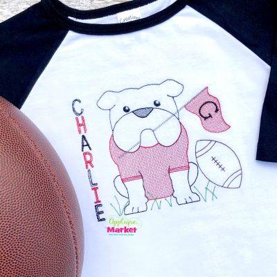 Bulldog Pennant Sketch